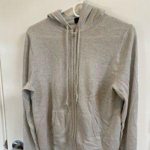 Women's JCrew cashmere hoodie